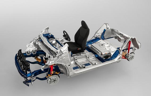 画像: 新型ヤリスから採用が始まったTNGA-Bプラットフォーム。全長、ホイールベースなどの設定に自由度が高く、Bセグメントの多様な車種に対応する。