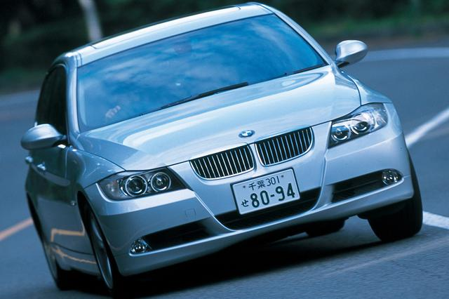 画像: BMW325i。このセグメントを築きあげ、リードし続けてきた自信に溢れる。