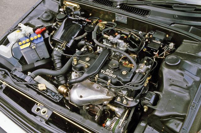 画像: 120ps/17.5kgmとハイパワーながら10モード燃費20.5km/Lも実現したターボエンジン。
