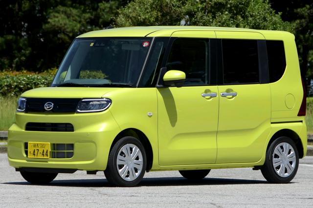 画像: NAエンジンを搭載するタント Xセレクションの車両価格は149万500円。