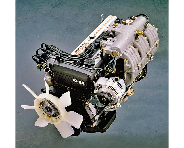 画像: 1G-G型エンジンは先代からのキャリーオーバーだが、さまざまな小改良で効率アップが図られた。