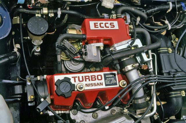 画像: NAと排気量は同じだが燃料供給装置にECCSを使ったターボエンジンは85psと12.0kgmを発生した。