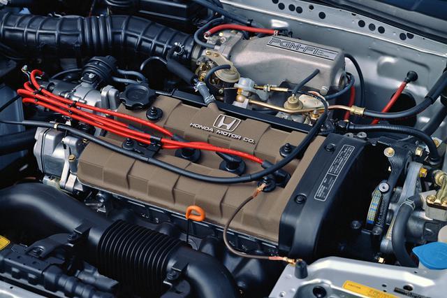 画像: シビック/CR-X Siと基本的に共通のZC型エンジン。シングルキャブ仕様も新たに設定された。