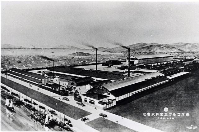 画像: 東洋コルク工業株式会社 工場の全景。