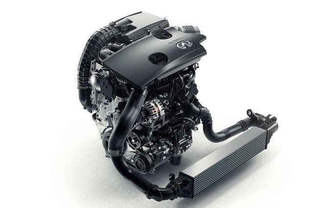 画像: 世界初の量産型可変圧縮比ターボエンジン「インフィニティVCターボ」。