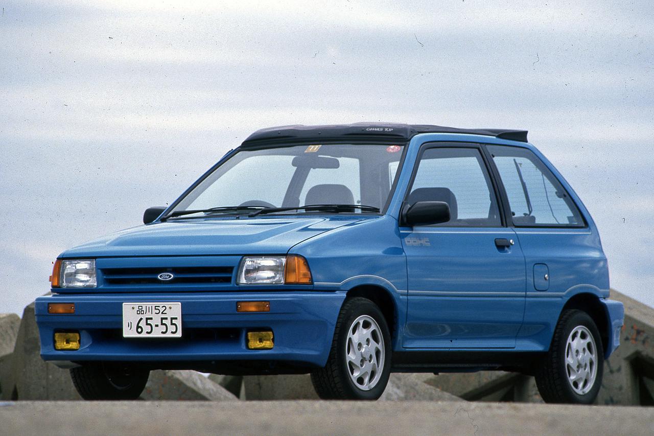 Images : 1番目の画像 - フォード フェスティバ 1300GT - Webモーターマガジン