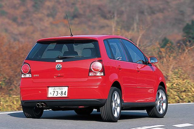 画像: 2005年12月20日、欧州に先駆けて日本発表された2代目ポロGTI。