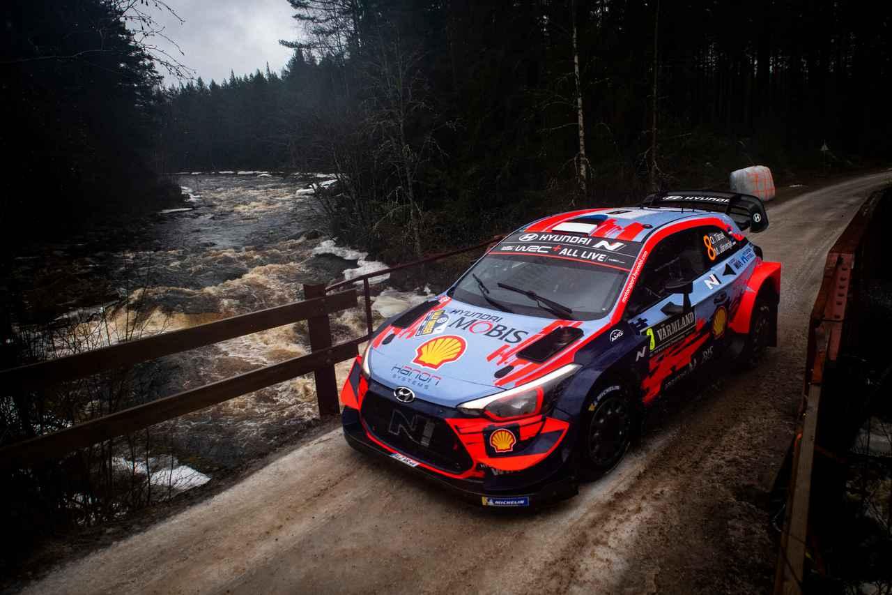 Images : 5番目の画像 - 2020 WRC 第2戦ラリー・スウェーデン - Webモーターマガジン