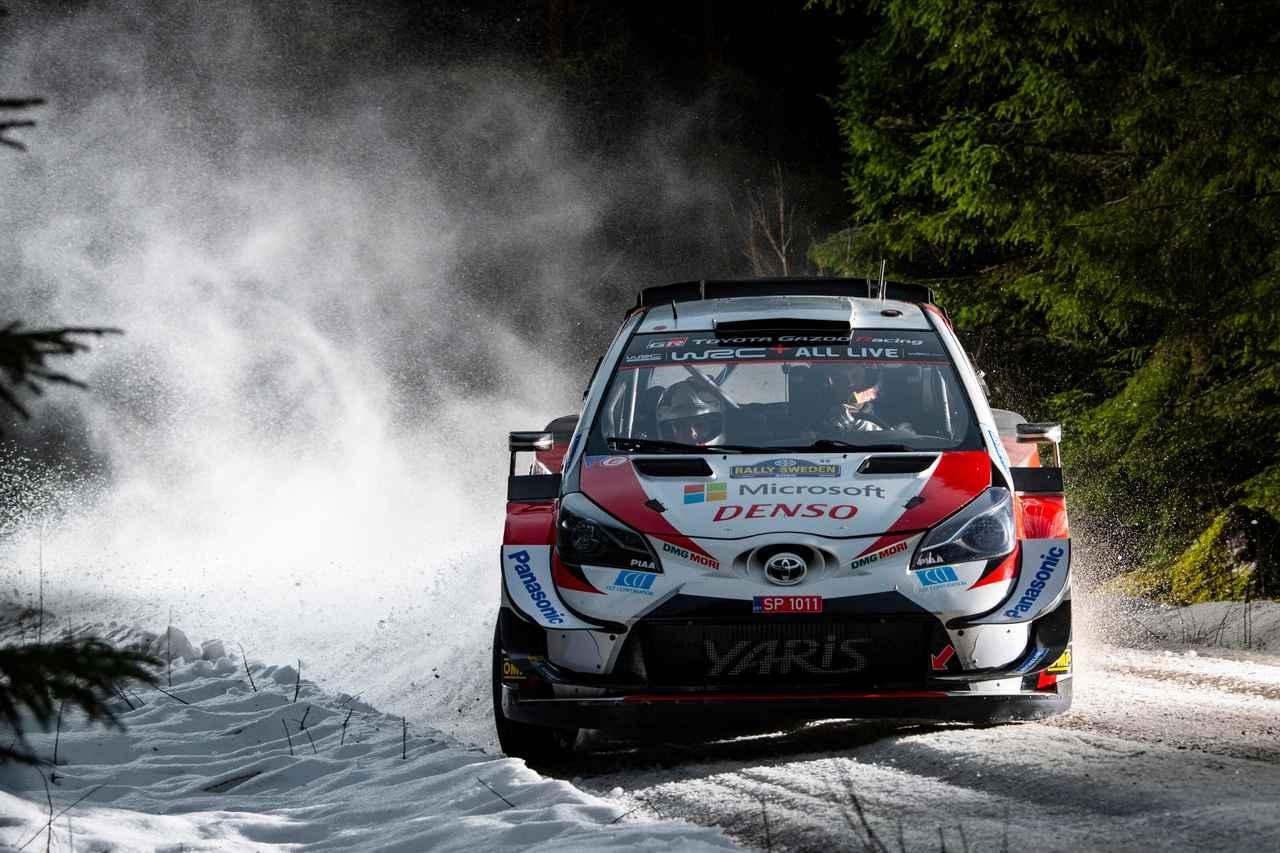 Images : 7番目の画像 - 2020 WRC 第2戦ラリー・スウェーデン - Webモーターマガジン