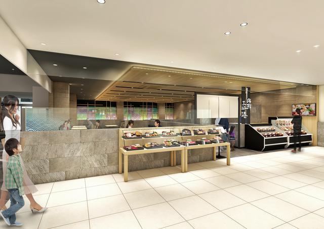 画像: テイクアウトコーナーも新設された「海鮮三崎港」のイメージ。