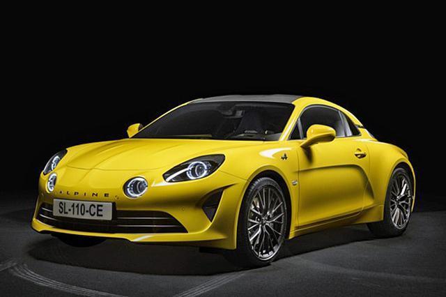 画像: 黄色いボディカラーが鮮やかな「A110 カラーエディション 2020」。