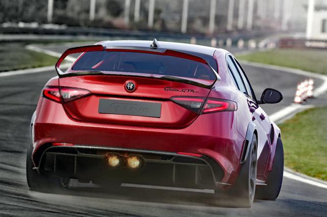 画像: ジュリア GTAmはサーキットを走る姿が似合いそうだ。