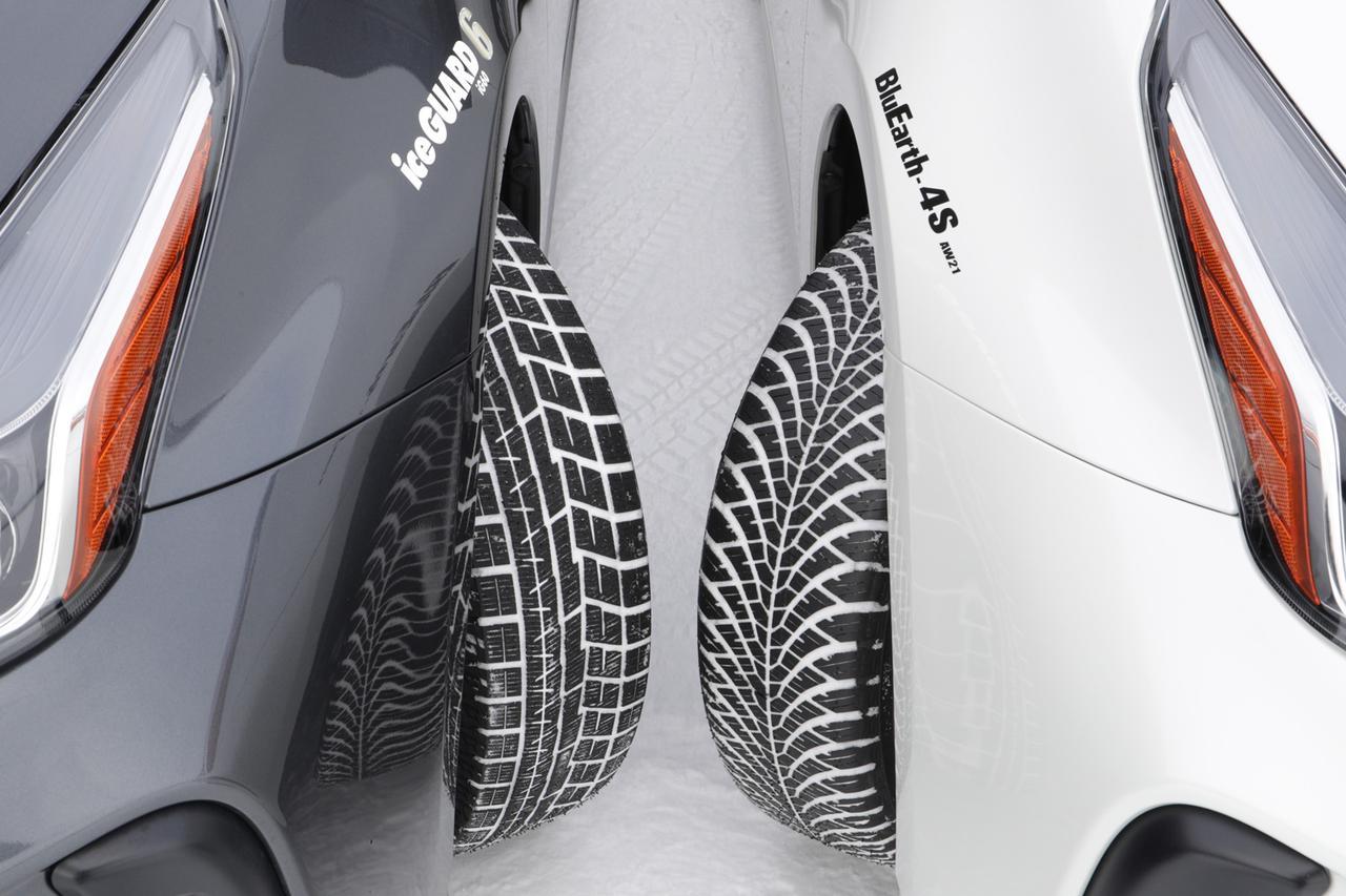 Images : 1番目の画像 - ヨコハマタイヤの「ブルーアース4S AW21」と「アイスガード6」 - Webモーターマガジン