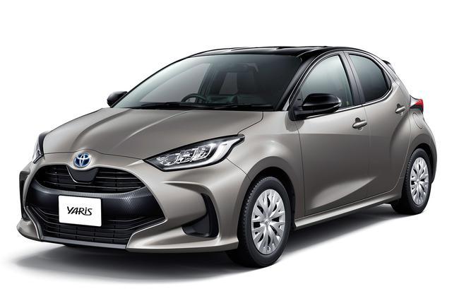 画像: デザインも好評な新型車ヤリス、写真のグレードは、ハイブリッド Z(2WD、オプション装着車)。