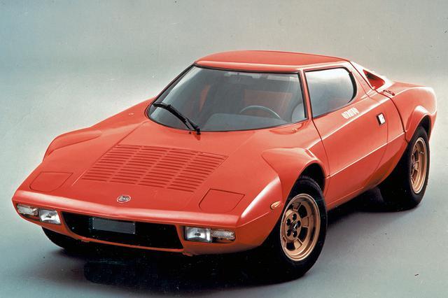 画像: 他のスーパーカーとも違う、独特のスタイル。フロントウインドーは円錐形状だった。