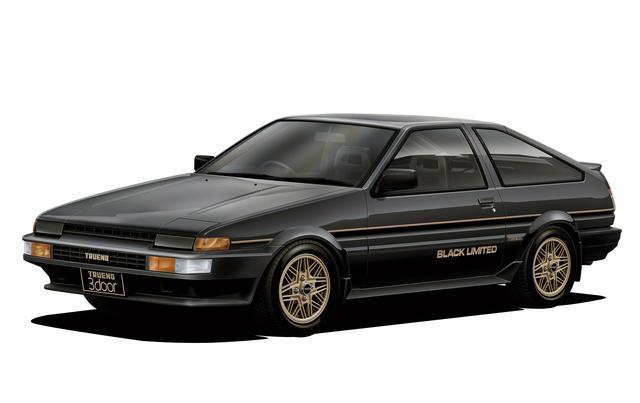 画像: AE86スプリンタートレノ GT APEX ブラックリミテッド。
