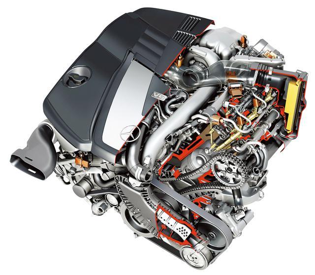 画像: 2005年にデビューした新開発の2987cc、V6DOHC4バルブのディーゼルターボエンジン。バンク角は72度で、ボア×ストロークは82×92mmのロングストロークタイプとする。コモンレール・ダイレクト・インジェクション(CDI)は第三世代の1600バールタイプとし、インジェクターは1行程につき最大5噴射を可能にするピエゾ式を採用する。