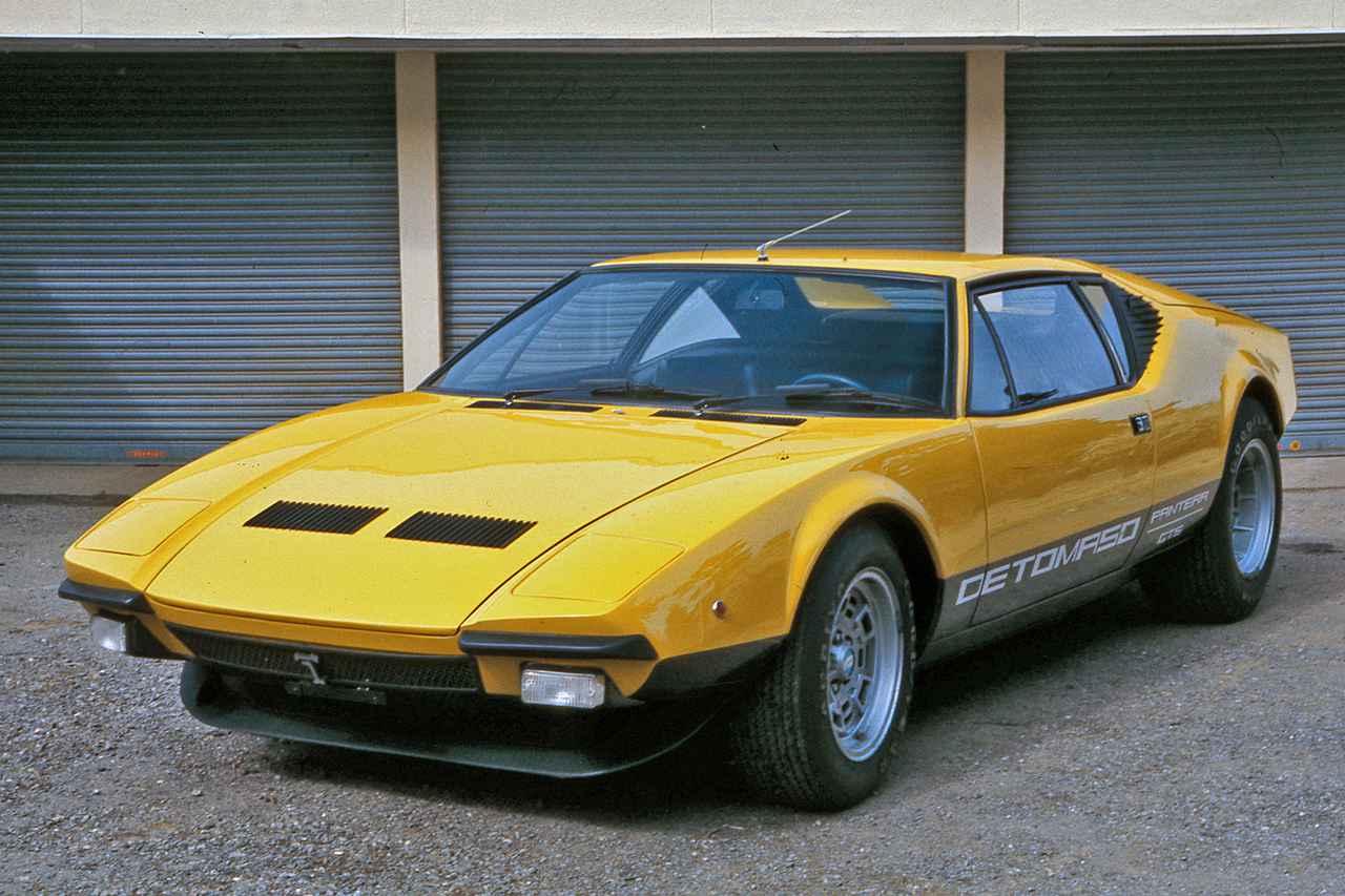 画像: 力強くシャープなボディのパンテーラは、スーパーカーブームで人気を集めた1台でもあった。