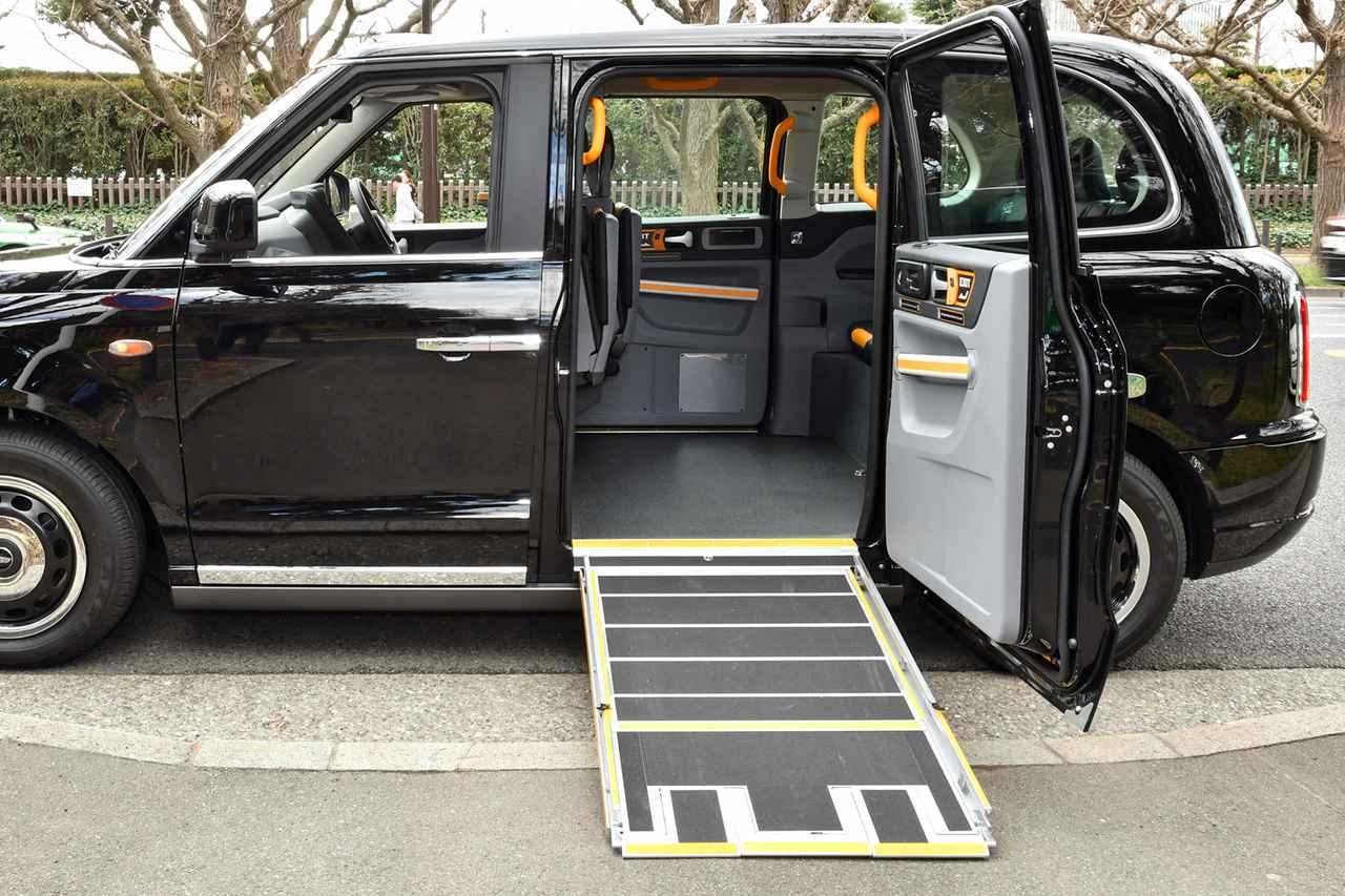 Images : 13番目の画像 - ロンドンタクシー TX「車いす移動車」仕様 - Webモーターマガジン