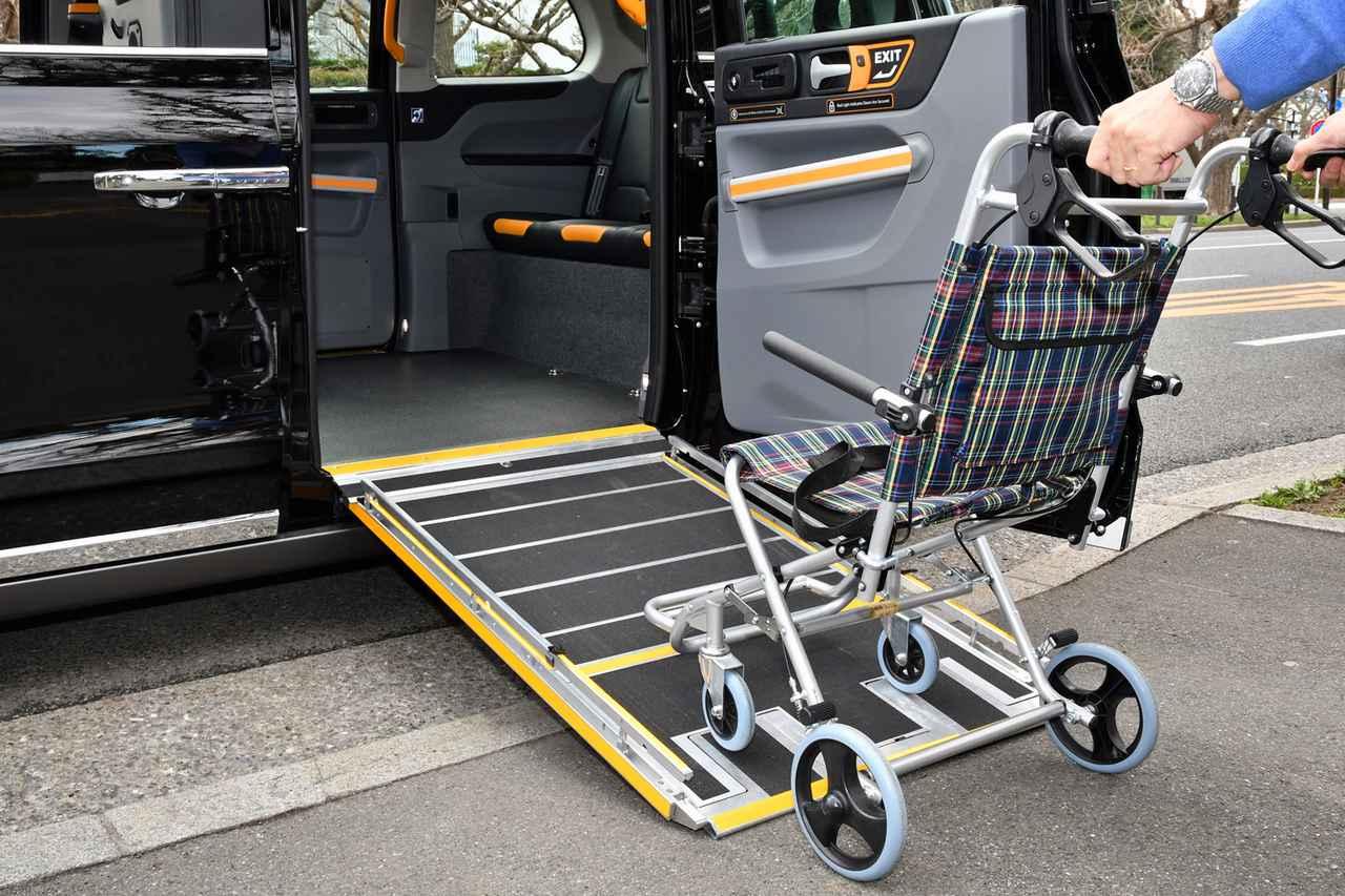 Images : 14番目の画像 - ロンドンタクシー TX「車いす移動車」仕様 - Webモーターマガジン