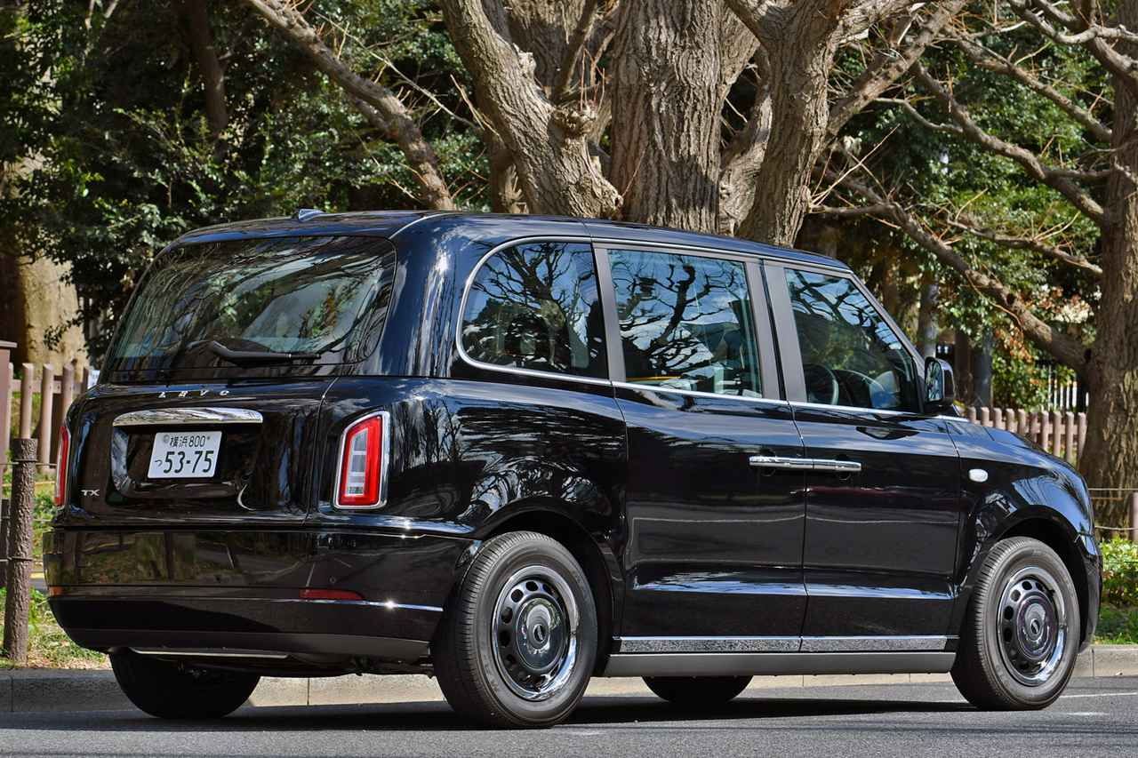 Images : 4番目の画像 - ロンドンタクシー TX「車いす移動車」仕様 - Webモーターマガジン