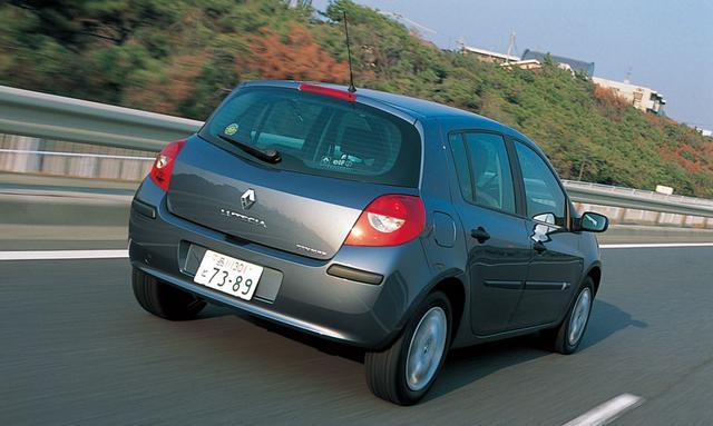 画像: 2006年3月、日本で発表された3代目ルノー ルーテシア。