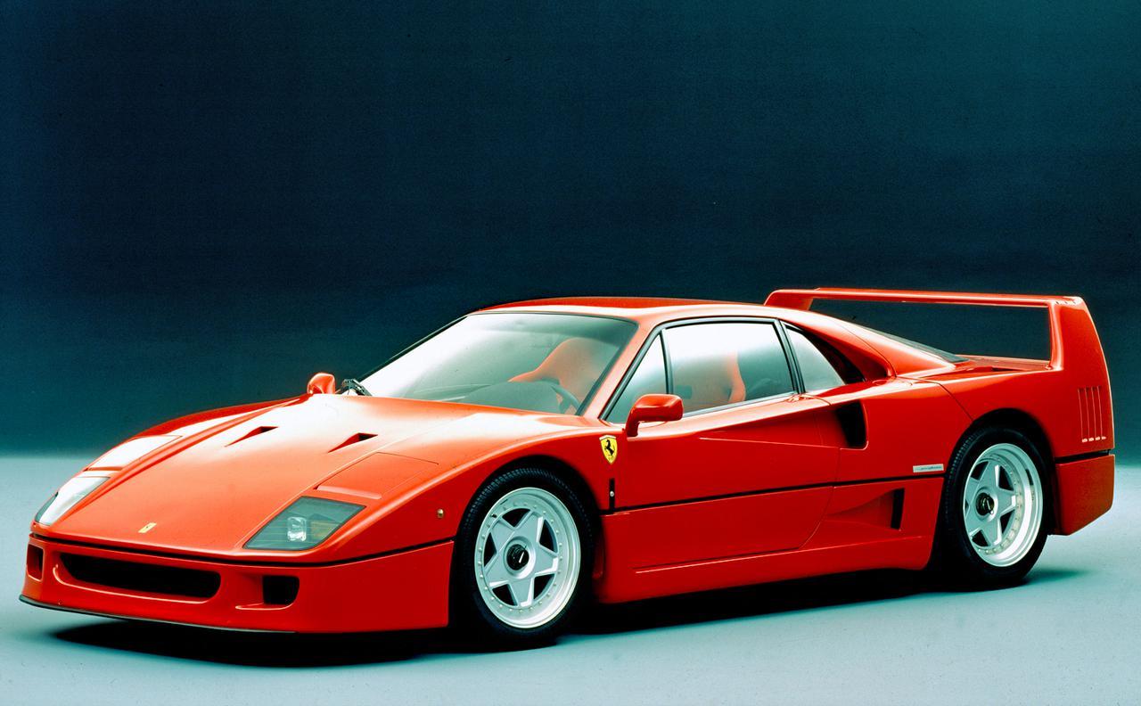 画像: F40はエンツォ・フェラーリ自身が企画した最後のモデルであり、同社の40周年記念車でもある。