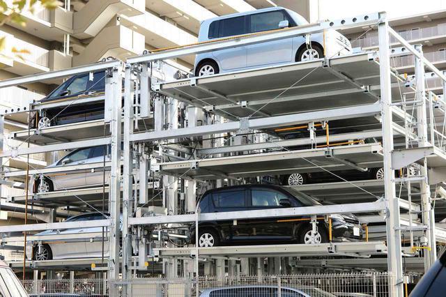 画像: 機械式の立体駐車場には最大積載重量が設定されているので、車検証の重量と比較して可否を判断しよう。