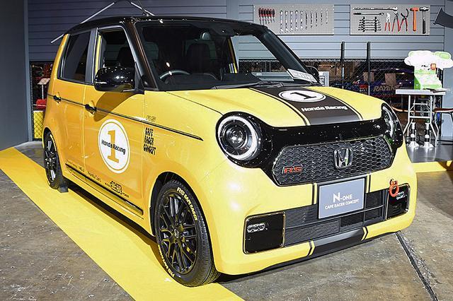 画像: 東京オートサロン2020と、大阪オートメッセ2020に展示されていた「N-ONE カフェレーサー コンセプト」。