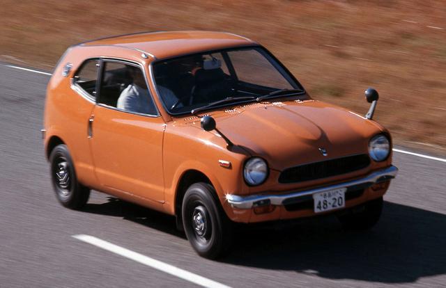画像: 実用一点張りの軽自動車の世界に新風を吹き込んだホンダZ。