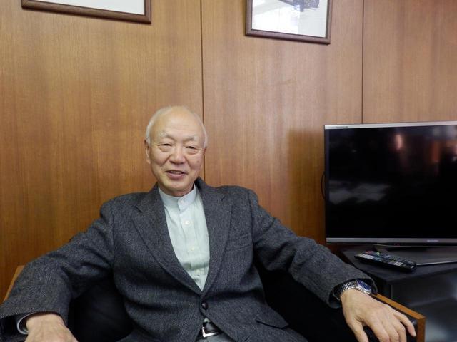 画像: 今回の記事のためにお話を伺ったのはRE研究部に所属、RX−7やモータースポーツ担当主査などを務めた小早川隆治さんだ。