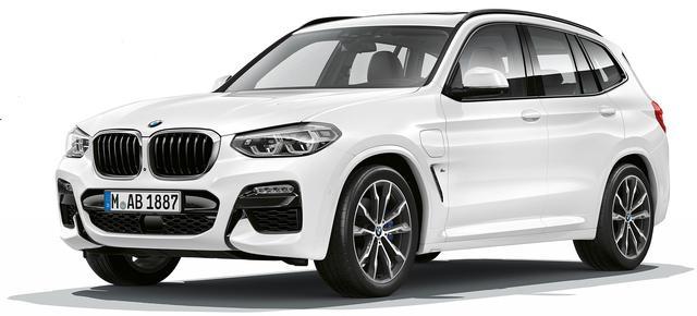 画像: BMW X3に追加設定された xDrive30e。最高出力184psを発揮する2L直4ターボエンジンと最高出力109psの電気モーターを搭載。