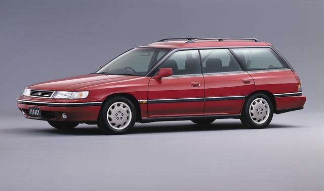 画像: 平成4年(1992年)には2.2Lエンジンを搭載した上級グレードの「ブライトン」を追加した。