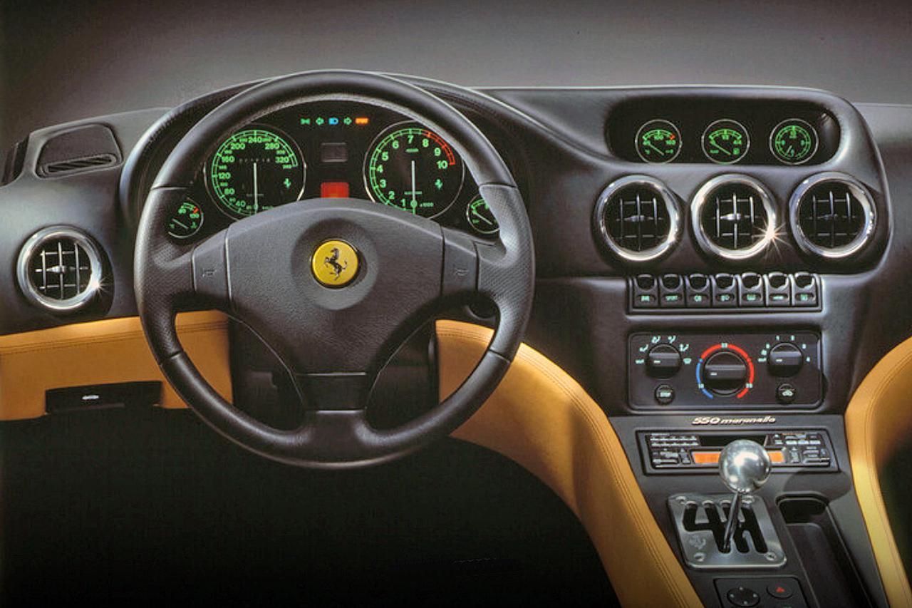 Images : 5番目の画像 - フェラーリ 550マラネロ - Webモーターマガジン