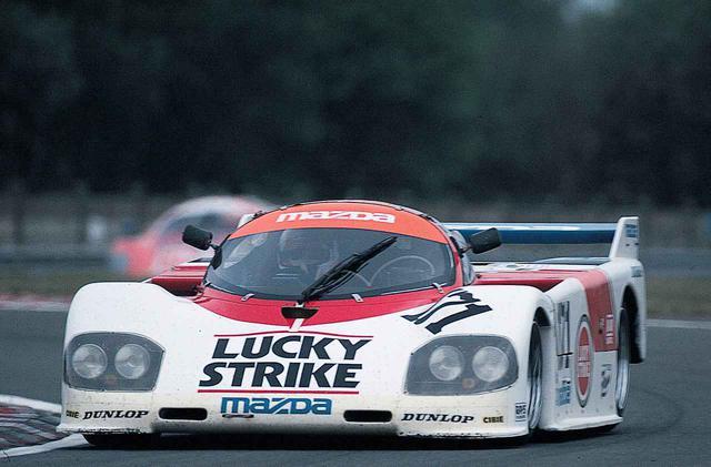 画像: 1986年のル・マンは3ローターの13G型を搭載したマツダ757が2台参加。予選では25位、29位。決勝では2台ともリタイアという結果に終わる。