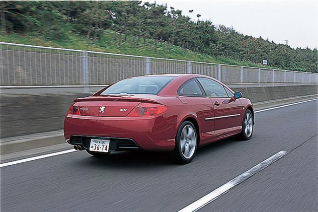画像: 日本では2006年6月5日に発表。7月7日から発売が開始されたプジョー クーペ407。