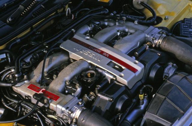 画像: BNR32型スカイラインGT-Rの陰に隠れてしまった感もあるが、Z32に搭載されたVG30DETT型ツインターボは世界的に見ても一級品の仕上がりだった。国内仕様は280psに抑えられたが北米仕様は300psだった。