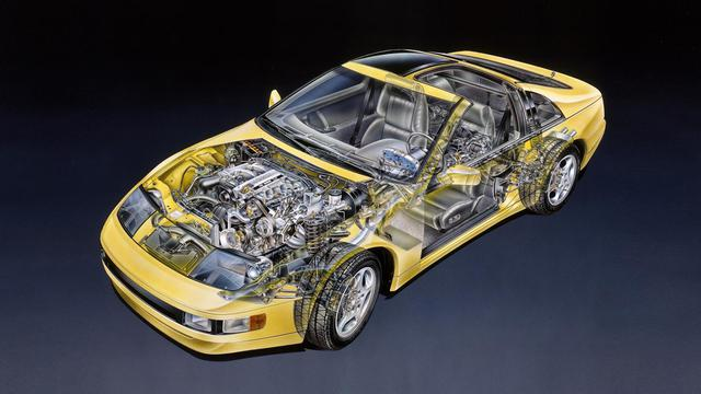 画像: NAエンジン搭載車(北米仕様)。エンジンパワーだけでなく、シャシにも欧州のスーパーカーと伍して戦えるポテンシャルが与えられていた。