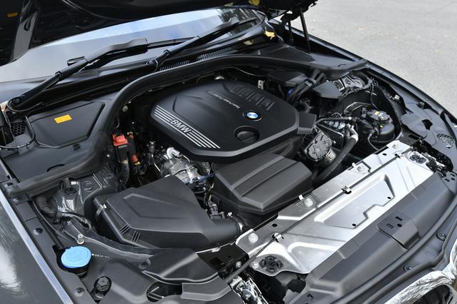 画像: 2L直4ディーゼルターボのB47D20B型エンジン。400Nmを1750rpmで発生する。
