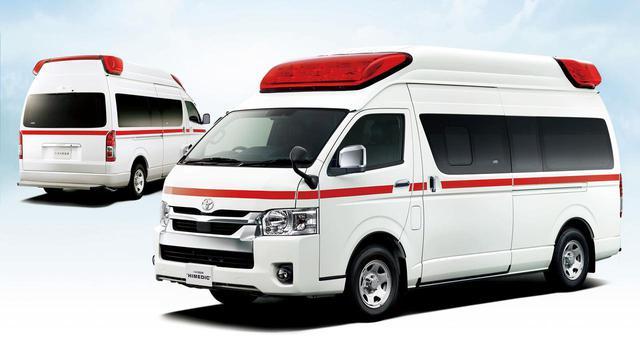 画像: トヨタ救急車 車両価格