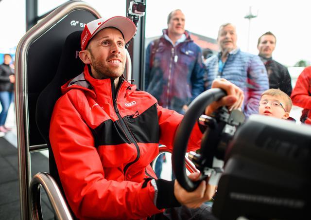 画像: アウディのDTMドライバーがひとりずつこのバーチャルレースに参加する。