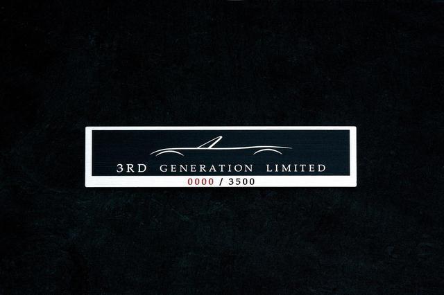 画像: 3rd Generation Limitedには世界3500台限定であることを示すスペシャルオーナメントが付く。