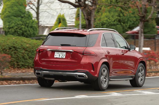 画像: 2019年6月に発表された新型メルセデス・ベンツGLE。車両価格は954万円〜1170万円。写真のGLE300dはベーシックモデルという位置づけ。