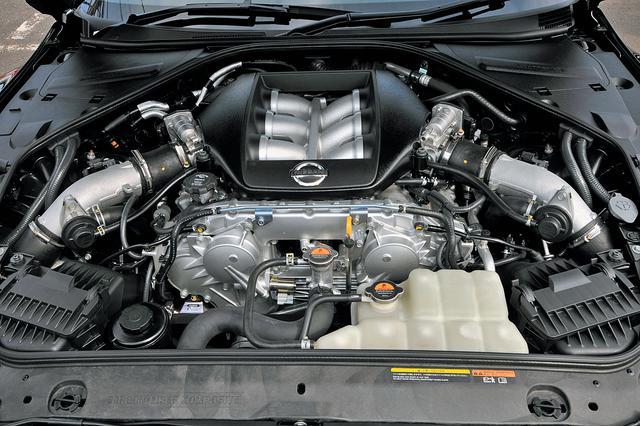 画像: 2009年に追加されたGT-RスペックVでは、ブースト圧を一時的に上昇させるハイギアブーストも採用している。