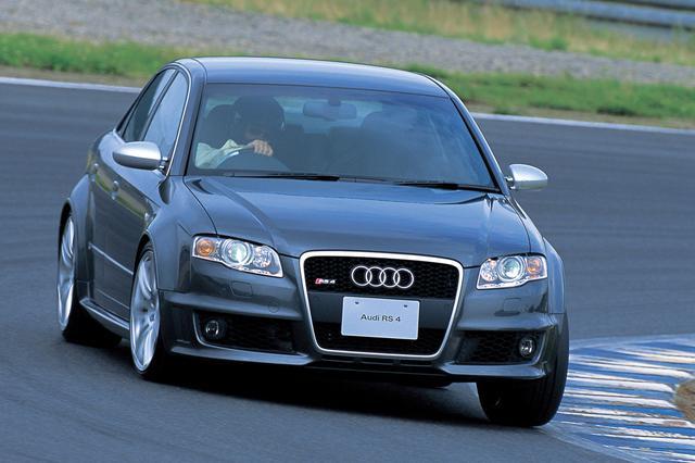 画像: RS4の日本での2006年年内販売台数つまり輸入台数は、RS4アバントも合わせて100台を予定。