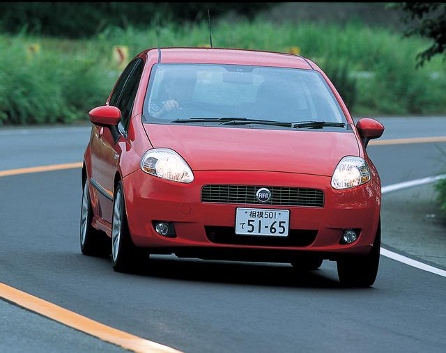 画像: 2005年のフランクフルトショーでデビューしたグランデプント。日本では2006年6月10日に販売が開始された。
