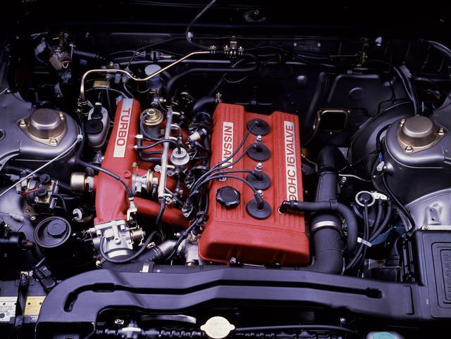 画像: 当時、すでにトヨタが3T-GTEU型エンジンでDOHCターボを実現していたが、まだ4バルブのDOHCターボは存在しなかった。そこへほぼリッター100psの4バルブDOHCターボが登場したのだから、その衝撃は現在では想像できないほどだった。