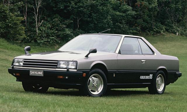 画像: 1981年10月に追加設定されたRS 。デビュー時のタイヤはまだ70偏平だった。
