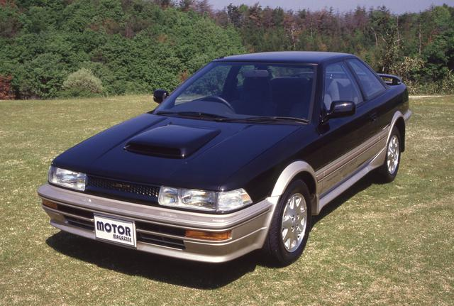 画像: 1987年5月、ついにレビン/トレノもFF化されるが、その最強バージョンのGT-Zには、4A-GZEが搭載された。