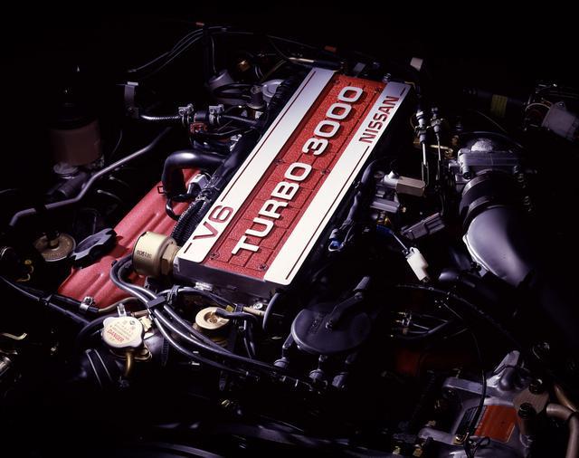 画像: 国産初のV6エンジン誕生から3カ月後、早くもターボ化されたVG30E・Tが登場。SOHC2バルブながら230psのパワーで、Z31フェアレディZは国産最速の座に。